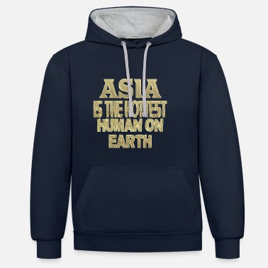 Asie Asie - Sweat-shirt contraste