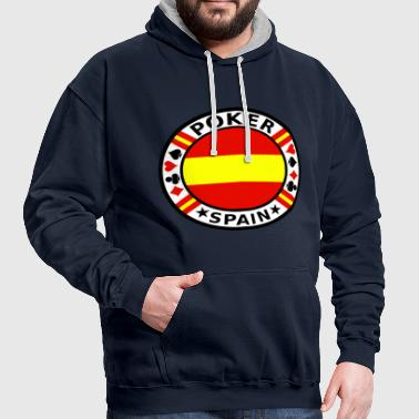 Poker Spain - Contrast Colour Hoodie