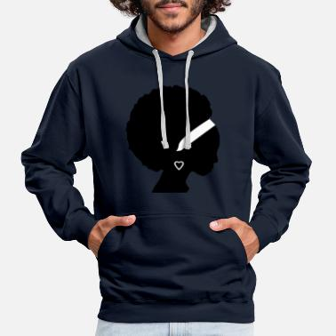 Afro Afro - Sweat-shirt contraste