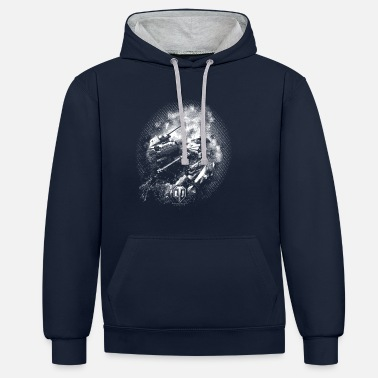 Gaming Collection World of Tanks - Battlefield BW - Unisex Hoodie zweifarbig