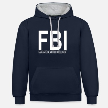 Fbi FBI - Sweat-shirt contraste