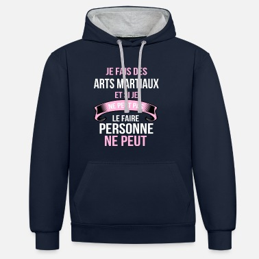 Arts Martiaux Arts martiaux - Sweat-shirt contraste