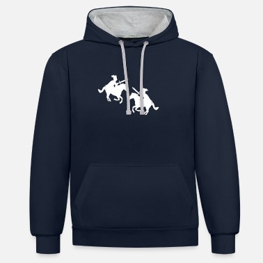 Knighthood Medieval Knights Cool Historic Middle Ages Gift - Contrast Colour Hoodie