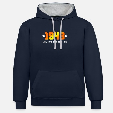 1948 1948 Limited Edition - Contrast Colour Hoodie