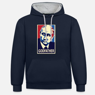 Trump Poutine Poutine - Sweat-shirt contraste