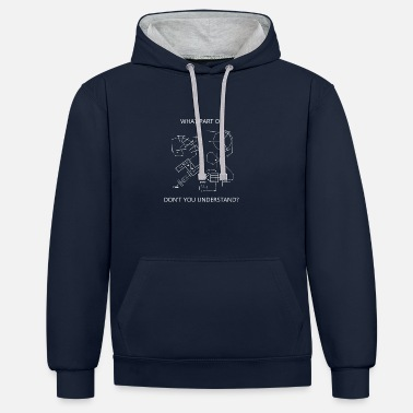 Westernriding Trail Westernriding Shirt - Contrast Colour Hoodie
