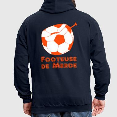 footeuse de merde - Sweat-shirt contraste
