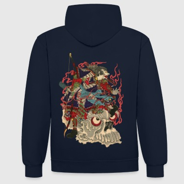 Skull Samurai - Sweat-shirt contraste