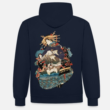 Geisha Geisha 1 - Sweat-shirt contraste