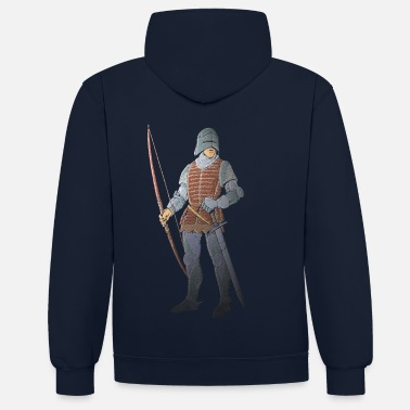 Archer Archers Brace Yourselves patjila - Sweat-shirt contraste