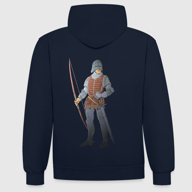 Archers Brace Yourselves patjila - Sweat-shirt contraste