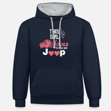 Jeep jeep - Unisex Contrast Hoodie