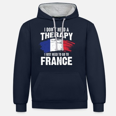 Home Country France home country - Unisex Contrast Hoodie