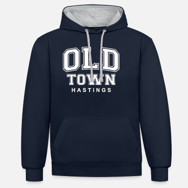 Hastings Old Town Old Town Hastings Tommy Style - Unisex Contrast Hoodie