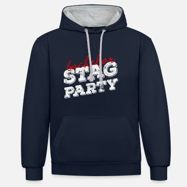 Farewell Party bachelor farewell party - Unisex Contrast Hoodie