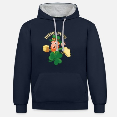 Irish Pubs Irish Pubs Bier Pubs - Unisex Hoodie zweifarbig