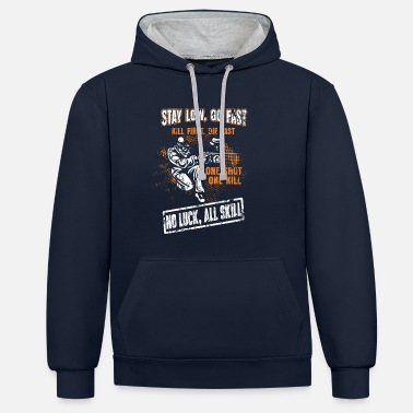 Paintball Paintball - Unisex Hoodie zweifarbig