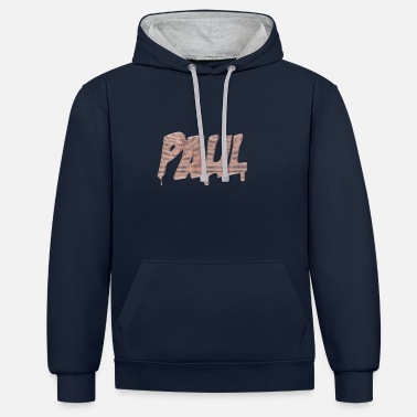 Meshes Paul - dripping copper mesh - Unisex Contrast Hoodie