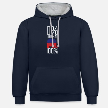 Liberation Liberal - Unisex Contrast Hoodie