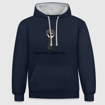 Tempting - Contrast Colour Hoodie