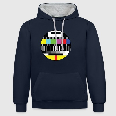 pause Signal - Contrast Colour Hoodie
