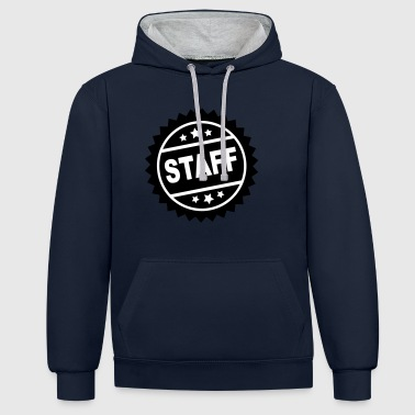 2541614 115912348 personnel - Sweat-shirt contraste