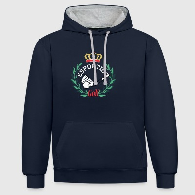 Golf clubs Narcos - Contrast Colour Hoodie
