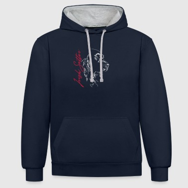IRISH SETTER - Contrast Colour Hoodie