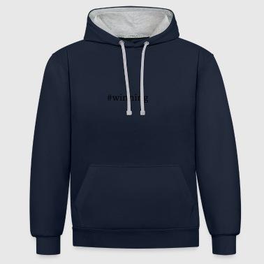 #Gagnant - Sweat-shirt contraste