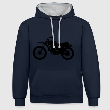 Moto - Sweat-shirt contraste