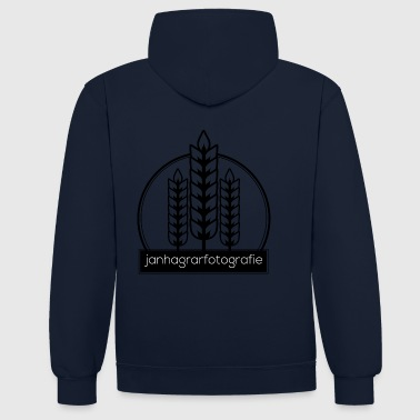 Jan H. agricultural Photography - Contrast Colour Hoodie