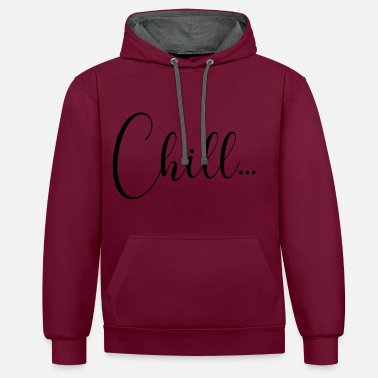 Chiller CHILL - Sweat-shirt contraste