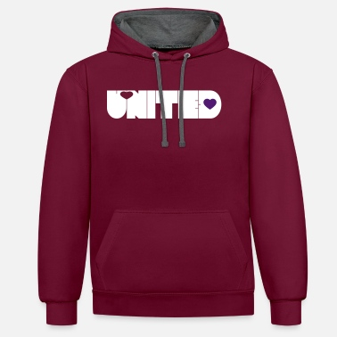 United UNITED - Sweat-shirt contraste