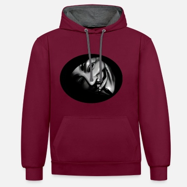 Anonymous Anonymous - Contrast hoodie