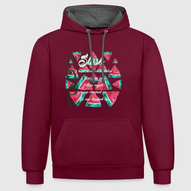 slush Watermellon Cool - Sweat-shirt contraste