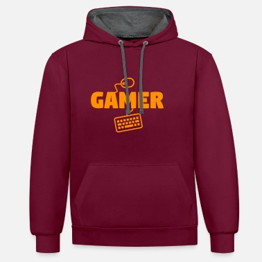 Youtube Gamer - Contrast Colour Hoodie
