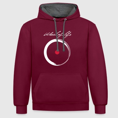 roue - Sweat-shirt contraste