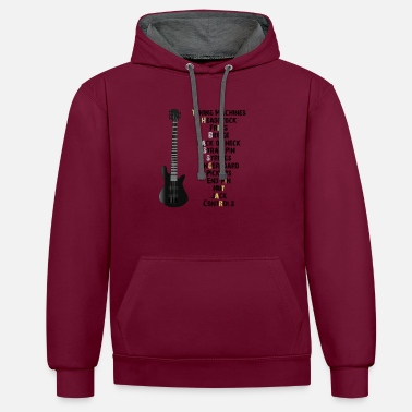 Bassist The Band - The Bass - Bassist - Contrast Colour Hoodie