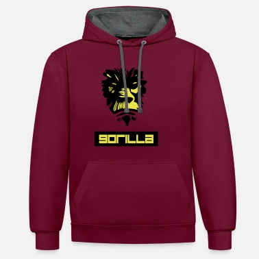 Gorilla gorrila - Sweat-shirt contraste
