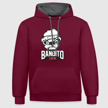 BANDITOCREW TWITCH - Contrast hoodie