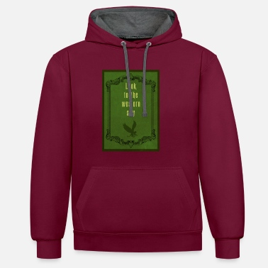Wicked Wicked - Contrast Colour Hoodie