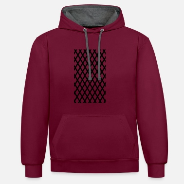 Hipster Hipster hipster - Contrast Colour Hoodie