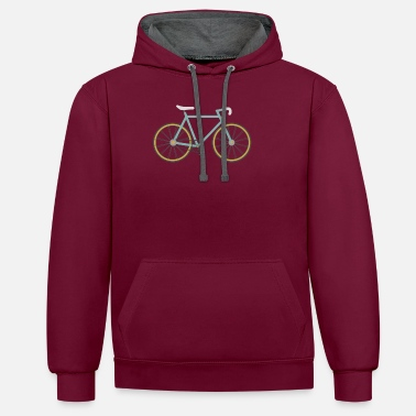 Single Speed Road / Single Speed Bike / - Unisex kontrastihuppari