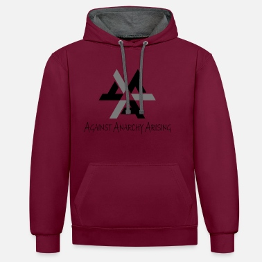 Dictatorship AAA - Against Anarchy Arising - Unisex Contrast Hoodie