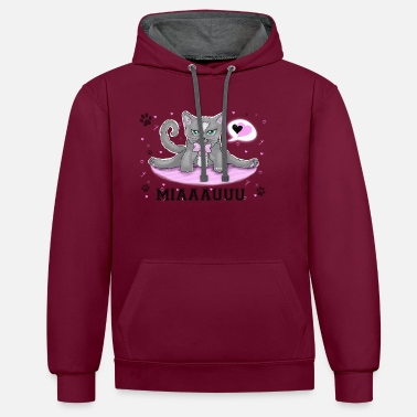 Soft Kitty Soft kitty - Unisex Contrast Hoodie