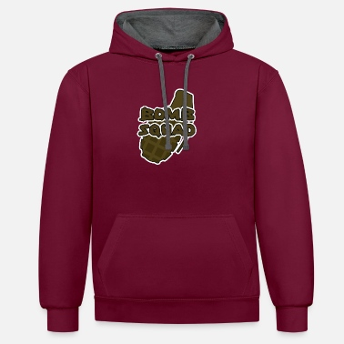 Bomb Squad Military / Soldiers: Bomb Squad - Unisex Contrast Hoodie
