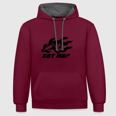 Tattoos - Got Ink? - Contrast Colour Hoodie