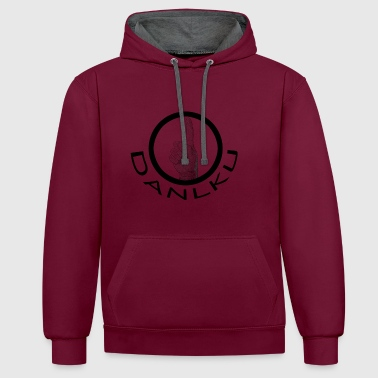 DANLKU - logo - Sweat-shirt contraste