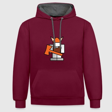 viking - Sweat-shirt contraste
