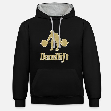 Deadlift Deadlift deadlift - Contrast Colour Hoodie
